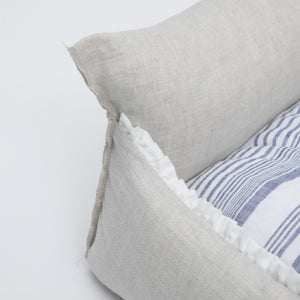 brilliant boom bed - natural linen