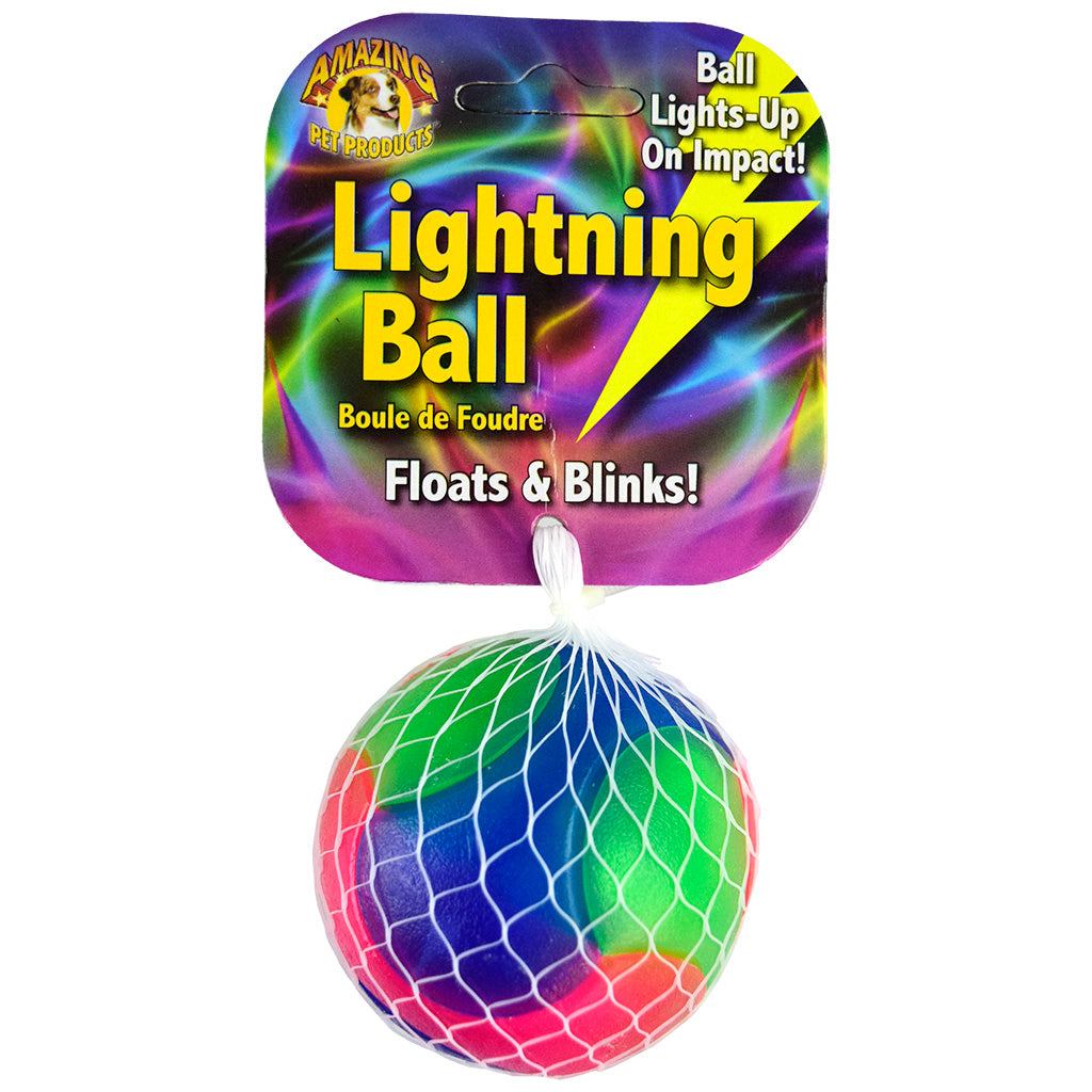 smooth light-up ball - rainbow