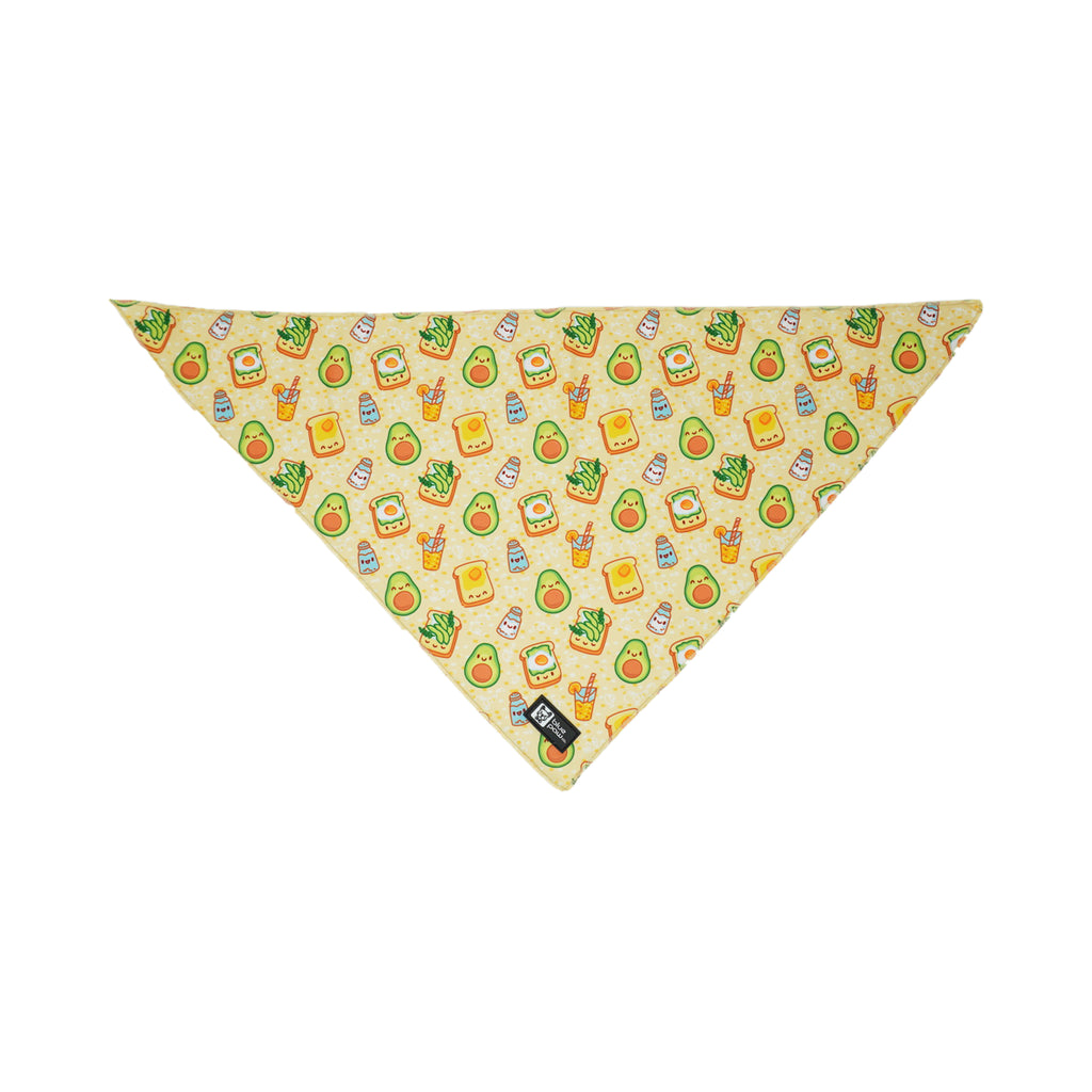 cooling bandana - avocado toast