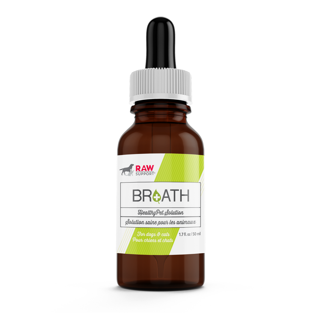 raw support - natural breath freshener