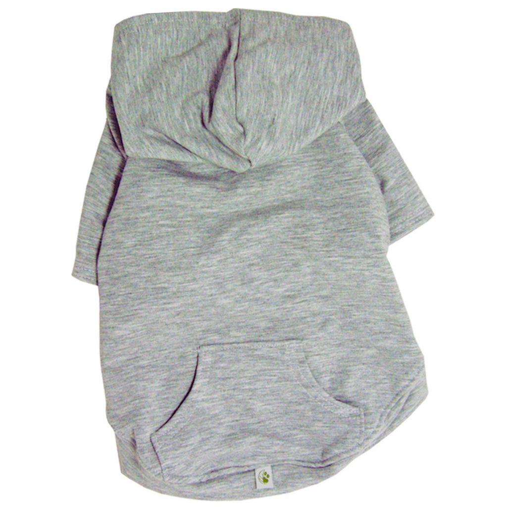 apple hoodie - light grey