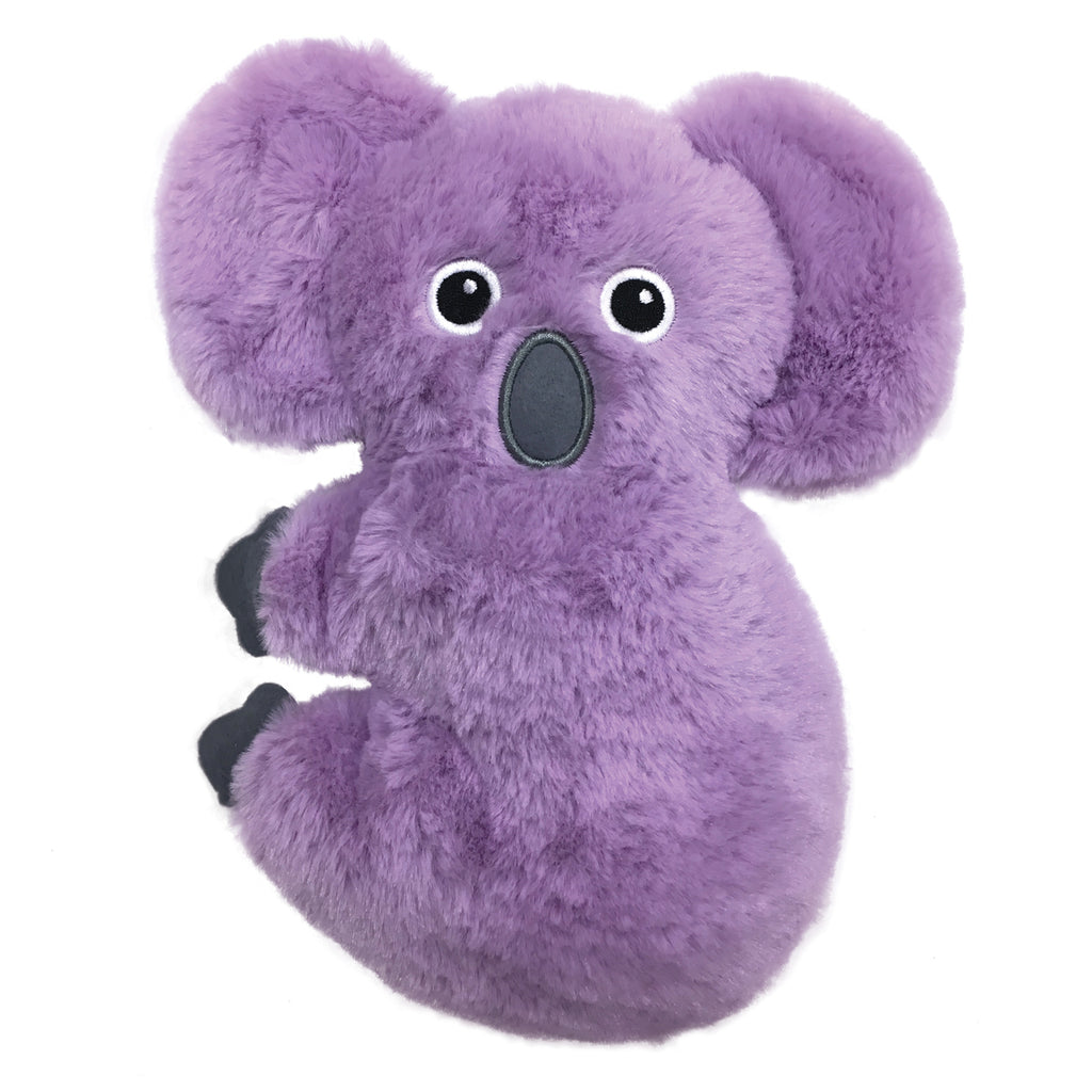 fuzzy purple koala