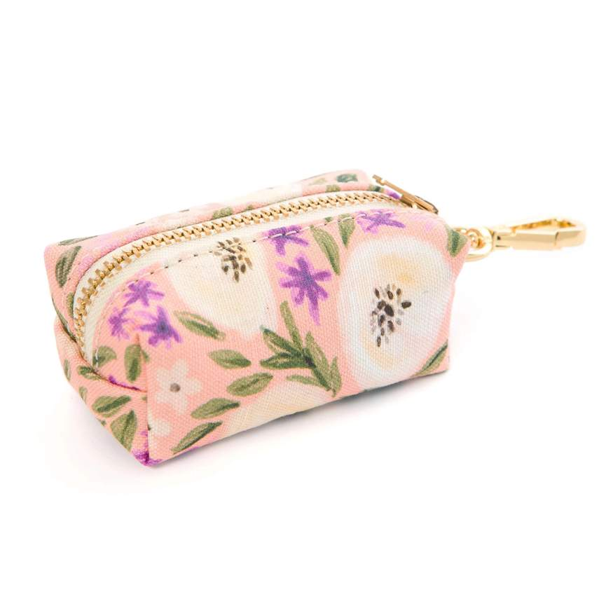 floral garden bag dispenser