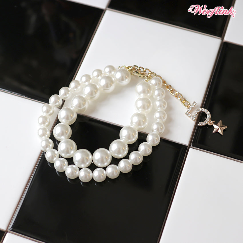 no. 5 pearl necklace