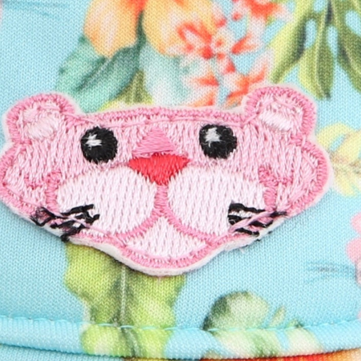 pink panther hat - mint