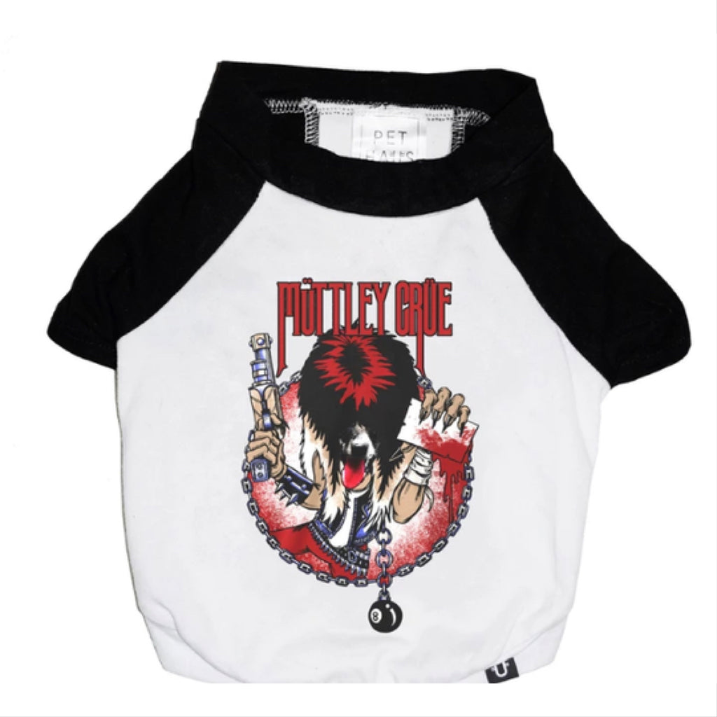 mutley crue raglan tee - available in 2xl