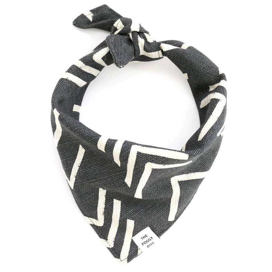 boho mud cloth bandana