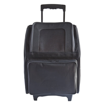 rio bag on wheels - black