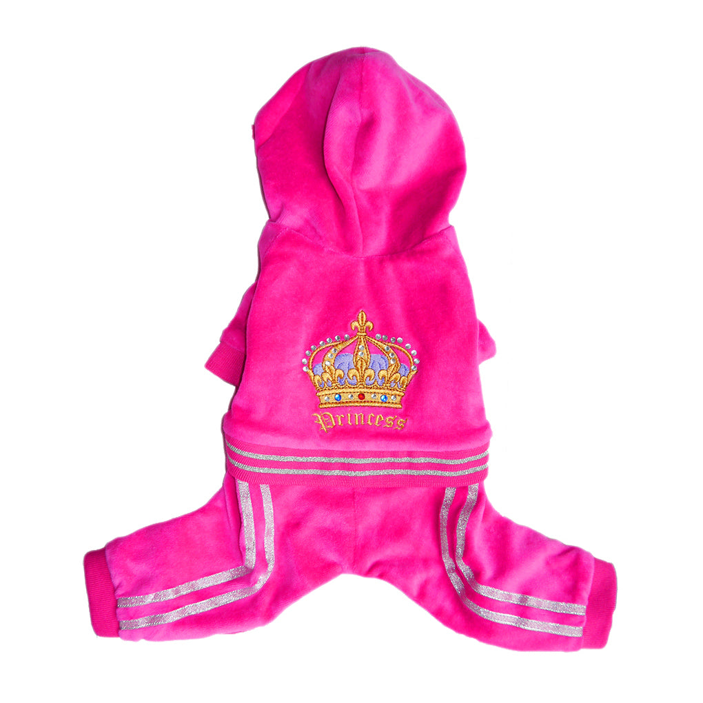 princess velour tracksuit