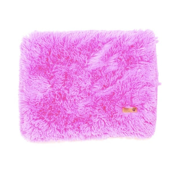 shag blanket - perfect pink