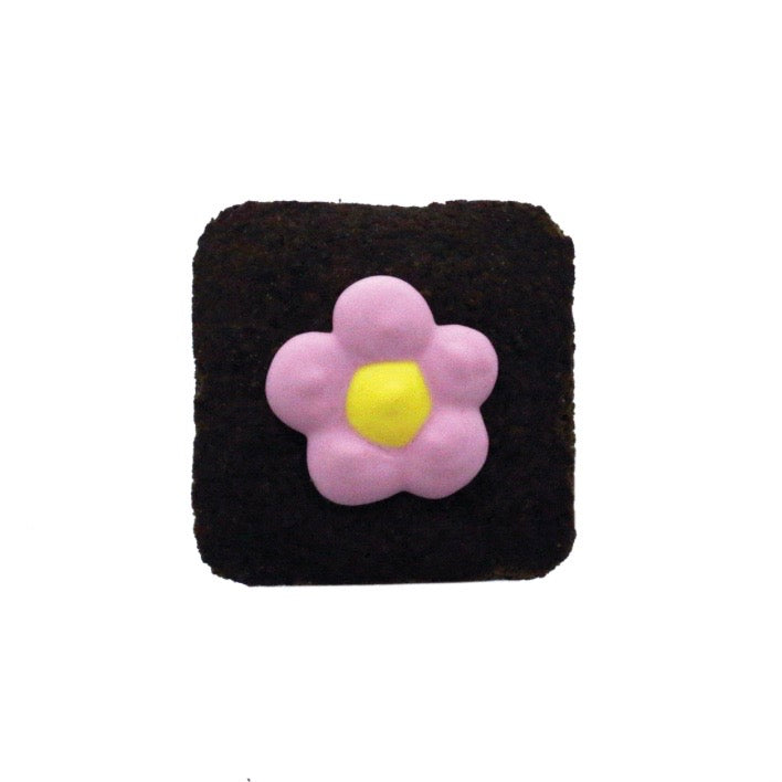 peeps brownies - flower