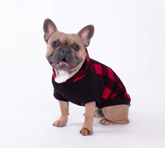 harry buffalo plaid hoodie
