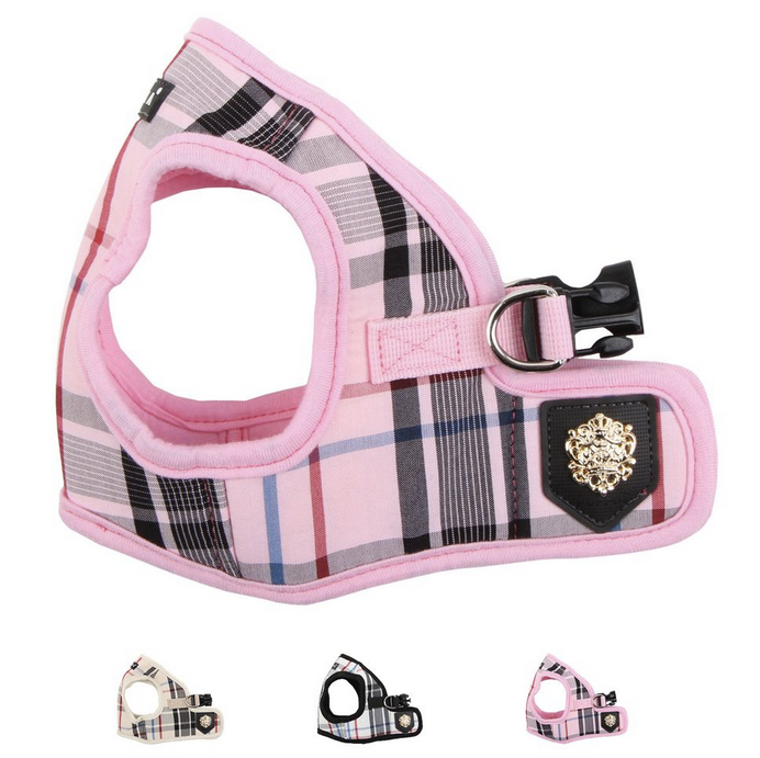 junior harness B - pink