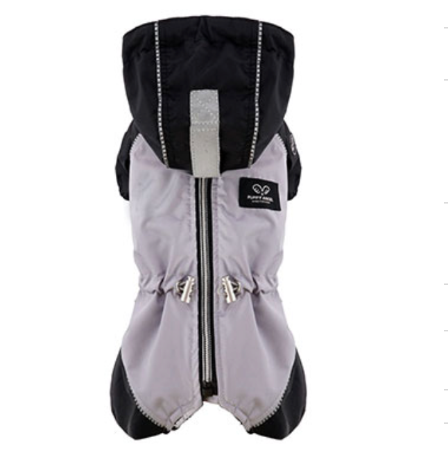 grey snow raincoat overalls - for boys and girls - 1 s/m left!