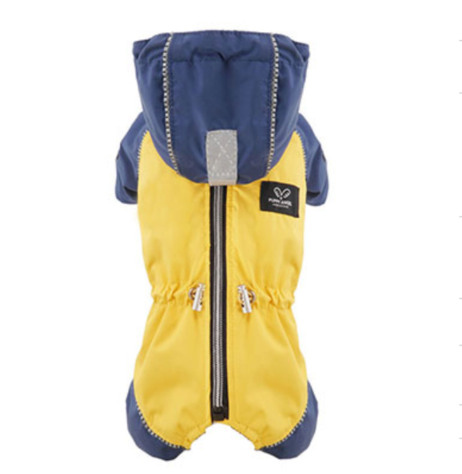 yellow snow raincoat overalls - fit is for girls