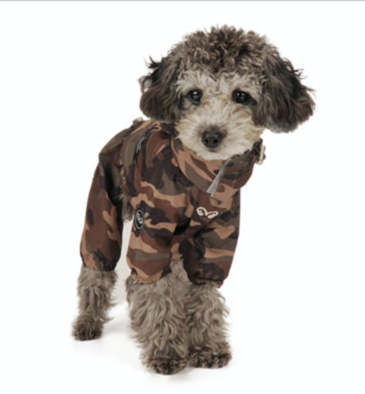 camo raincoat overalls - for boys and girls
