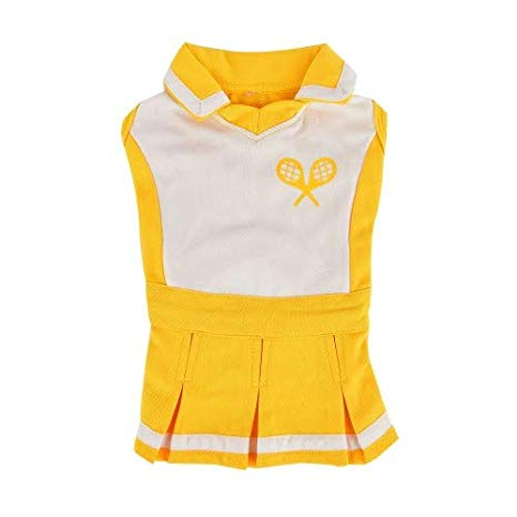 yellow ace tennis dress - 1 medium left!