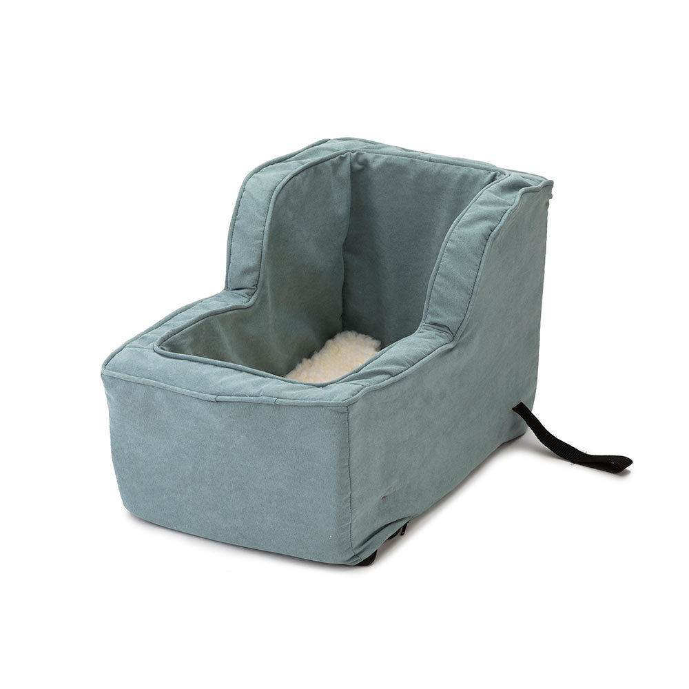 luxury microsuede high back console car seat