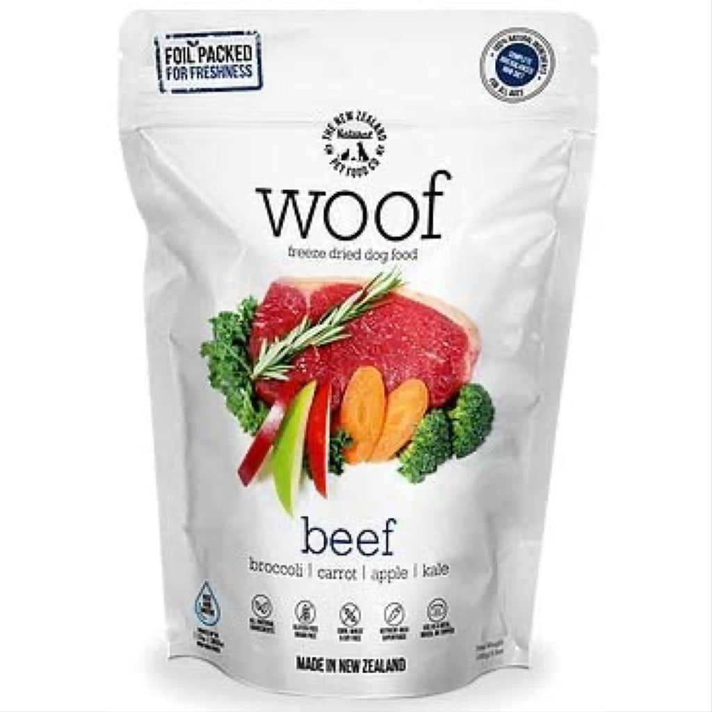 woof - freeze dried beef recipe
