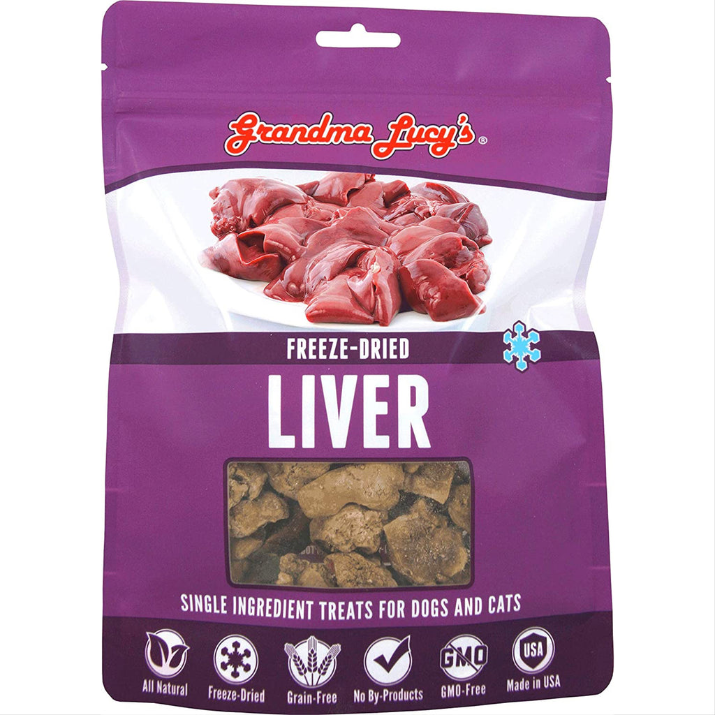 grandma lucy's freeze dried beef liver treats