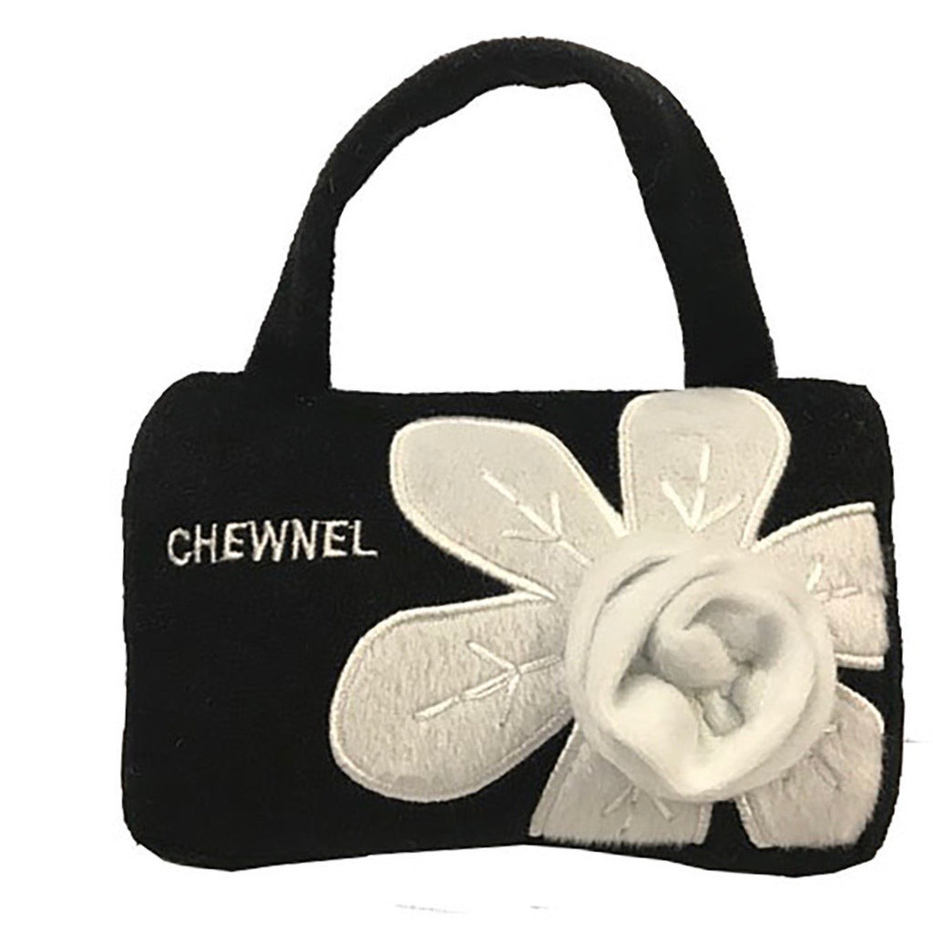 chewnel flower blanche purse toy