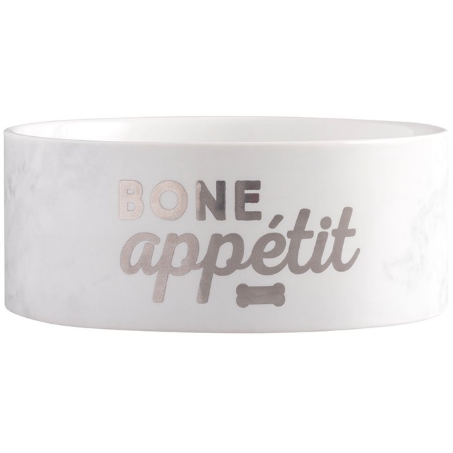 bone appetit dog bowl