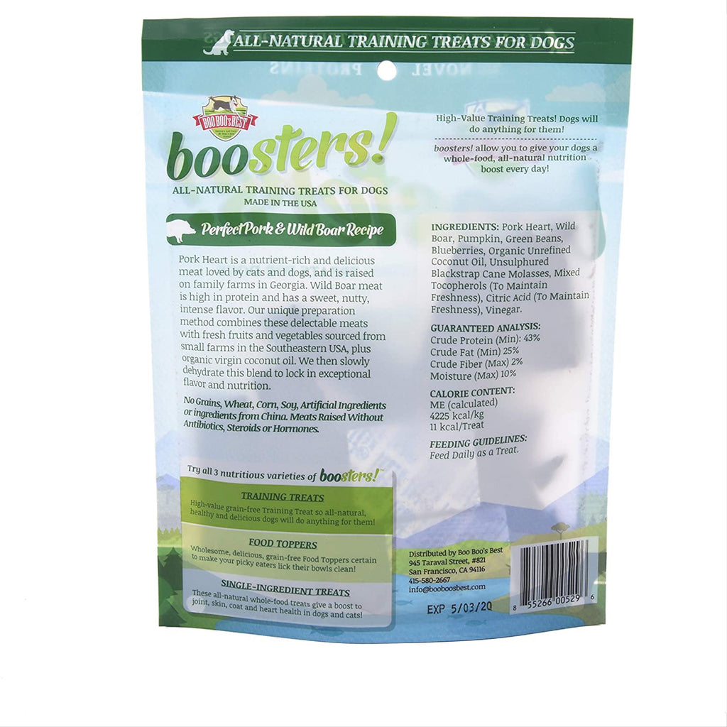 boosters - perfect pork and wild boar treats