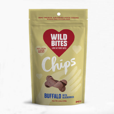wild bites chips - buffalo & blueberries