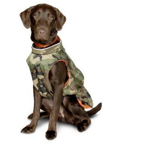 camo rain vest BIG DOG sizes