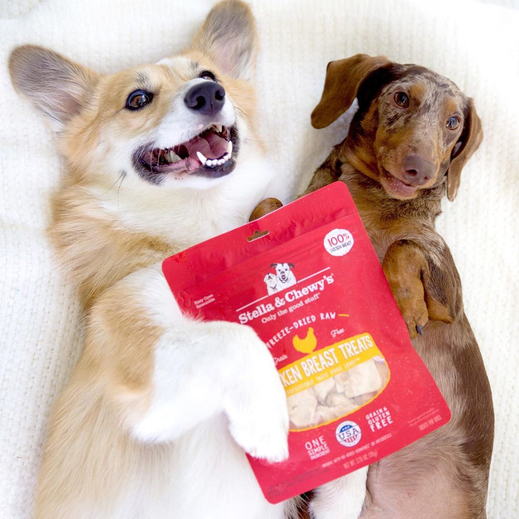 stella & chewy - freeze dried chicken breast treats