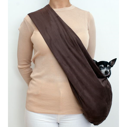 chocolate brown luxe snuggit