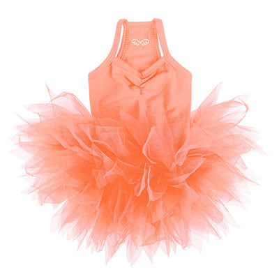 coral pink tutu dress - 1 small left!