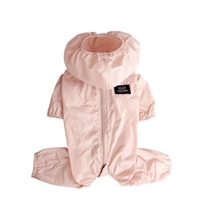 rainy day air coverall - pink - for unisex