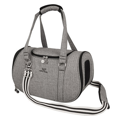 dark grey pet travel carrier