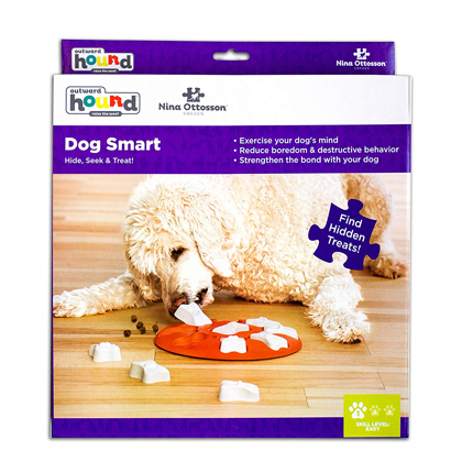 dog smart puzzle toy - plastic
