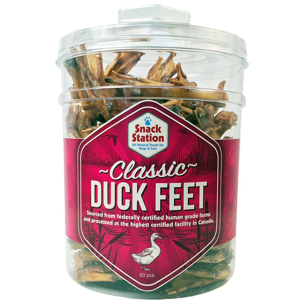 duck feet chew