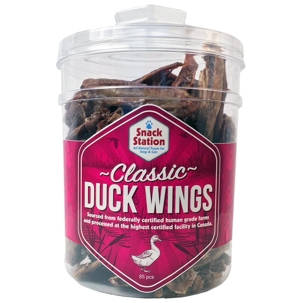 duck wing chew