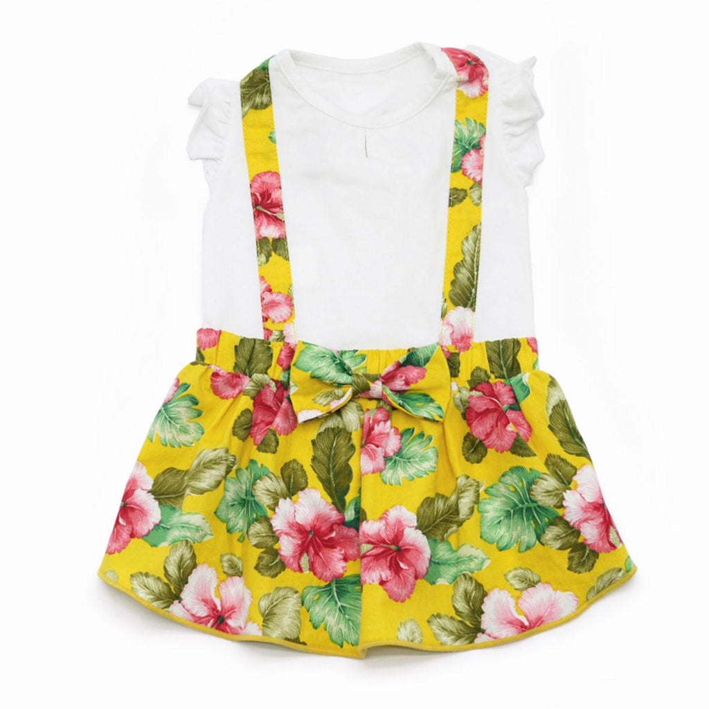 floral suspender dress - 1 xxs left!