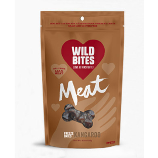 wild bites - freeze dried kangaroo