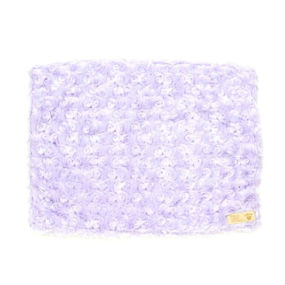 curly sue blanket - french lavender