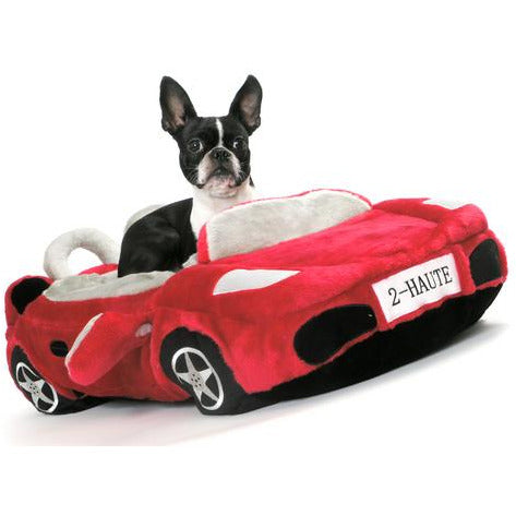 furrari car dog bed