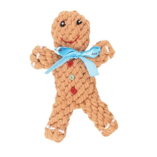 gingerbread rope toy