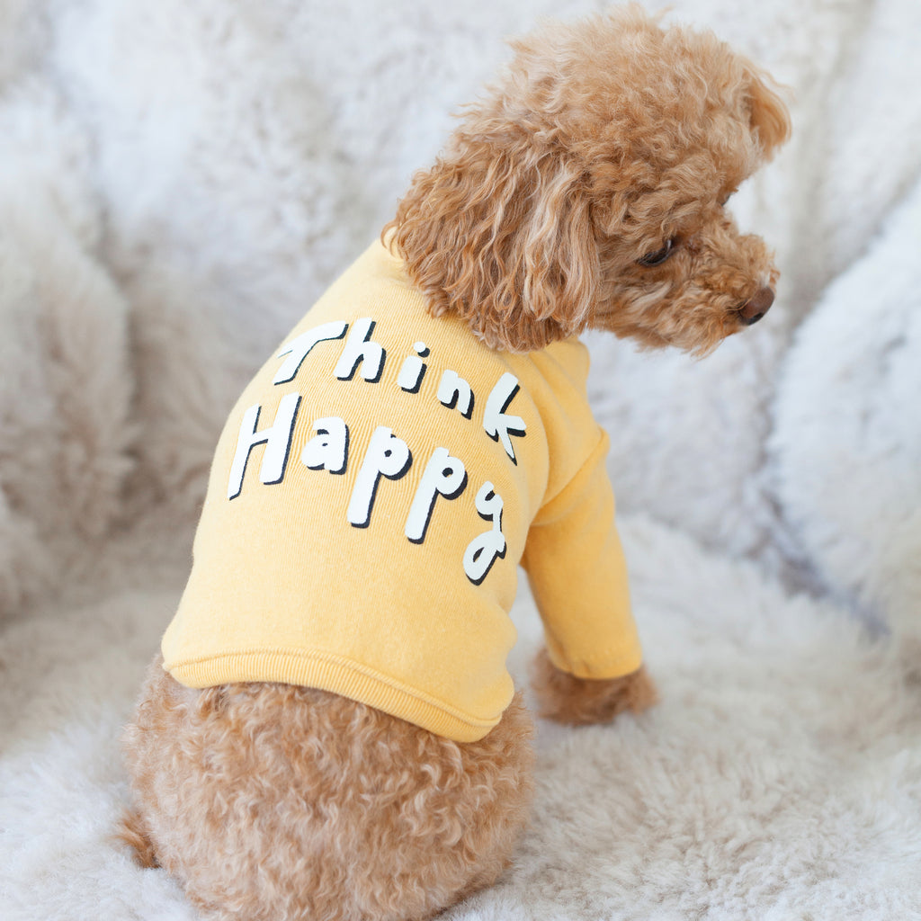 think happy mustard tee