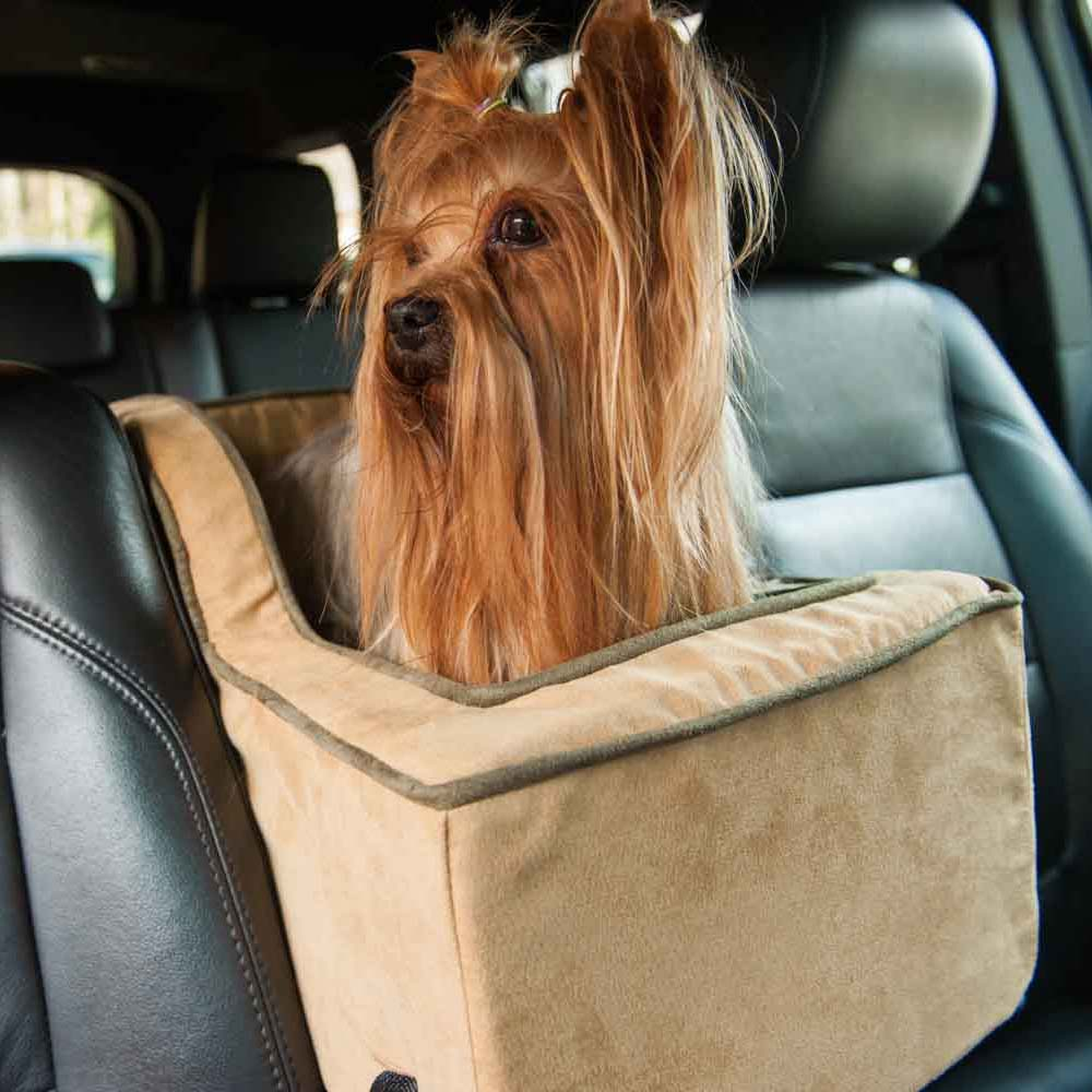 luxury high back console car seat - microsuede