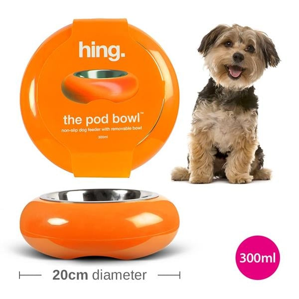 hing pod bowl - 1 small orange left