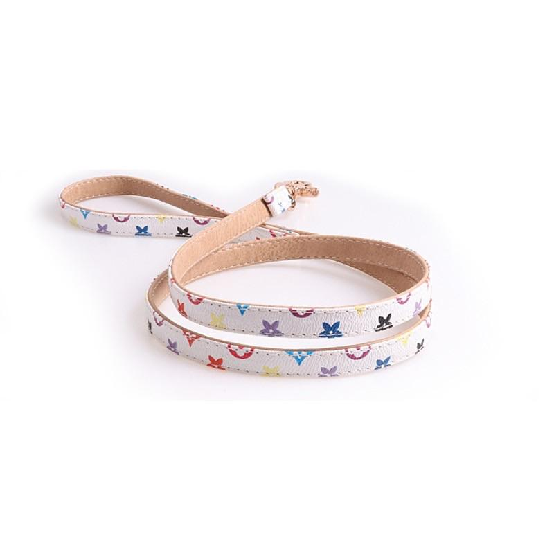 love me leash - white