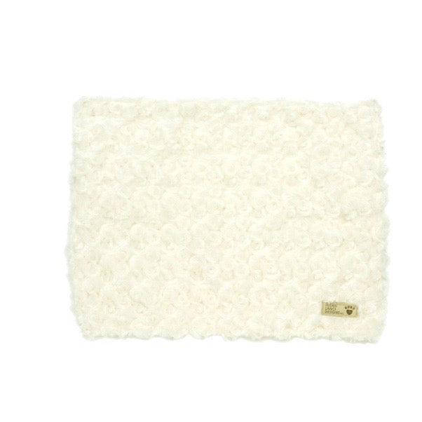 curly sue blanket - ivory