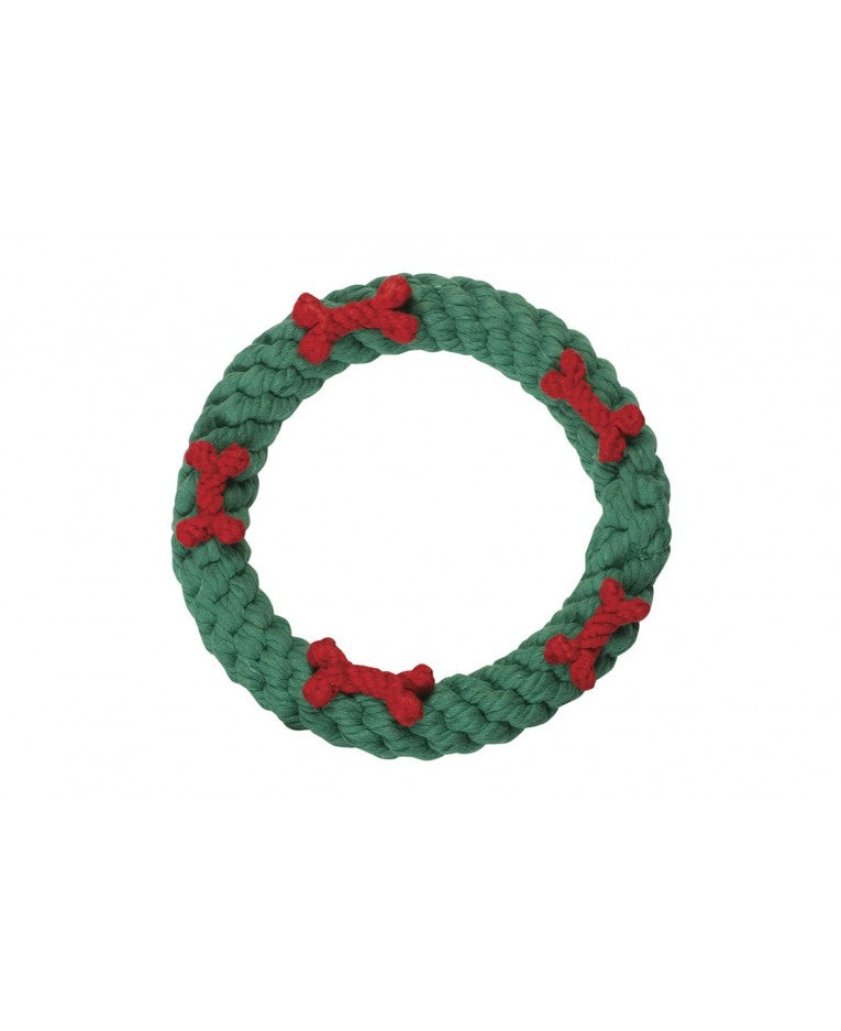 wreath rope toy - available in 2 sizes!