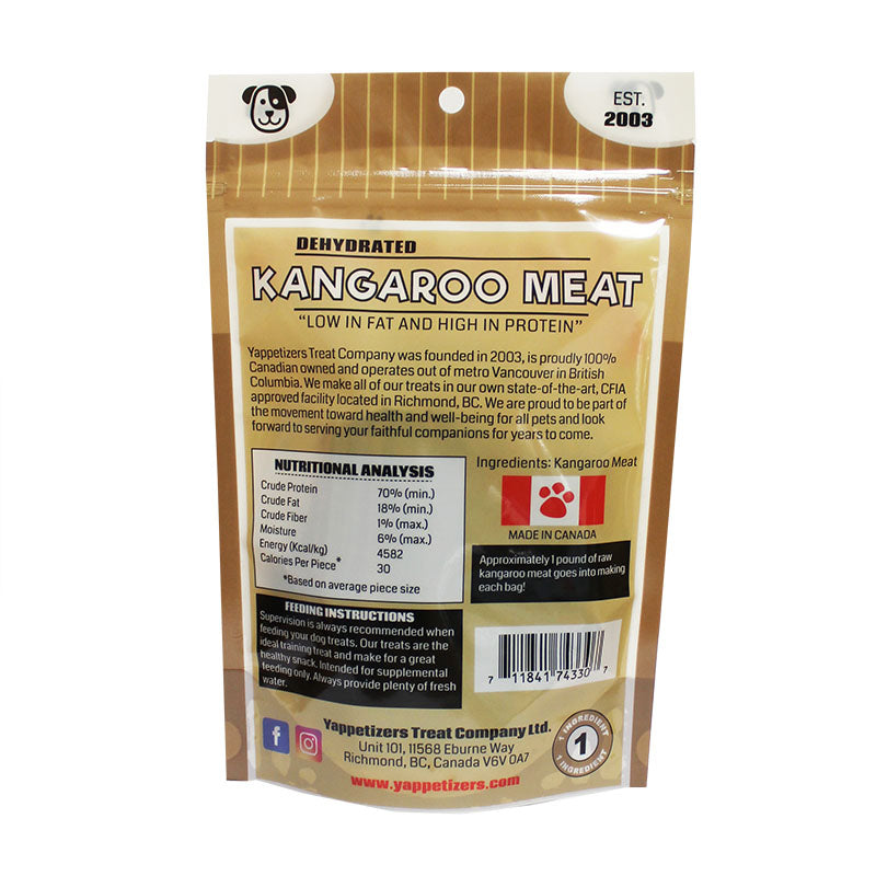 dehydrated kangaroo meat
