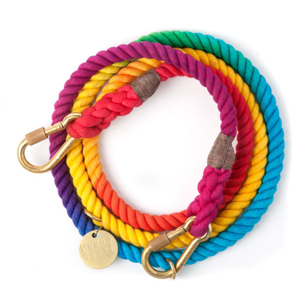 prismatic adjustable rope leash